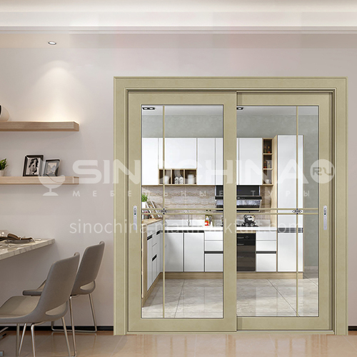 1.4mm aluminum alloy soundproof sliding door 3