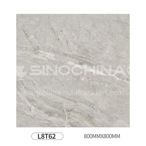 Simple and modern style whole body polished glazed floor tiles-L8T62 800mm*800mm
