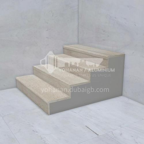 Natural beige classic European marble staircase M-J099X