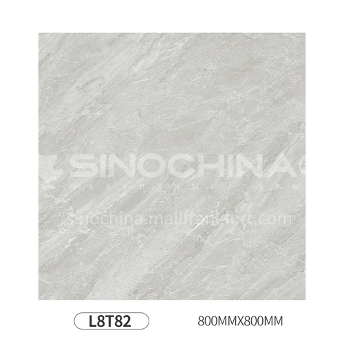 Simple and modern style whole body polished glazed floor tiles-L8T82 800mm*800mm