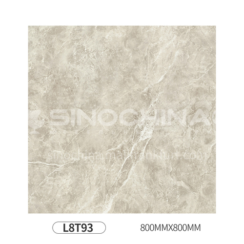 Simple and modern style whole body polished glazed floor tiles-L8T93 800mm*800mm