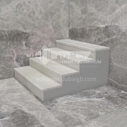 Natural beige classic European marble staircase M-XA91M