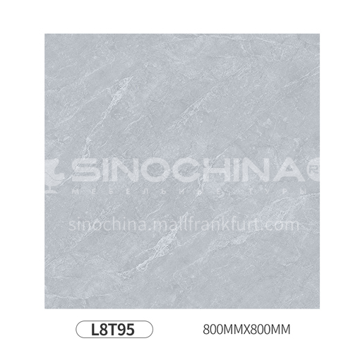 Simple and modern style whole body polished glazed floor tiles-L8T95 800mm*800mm