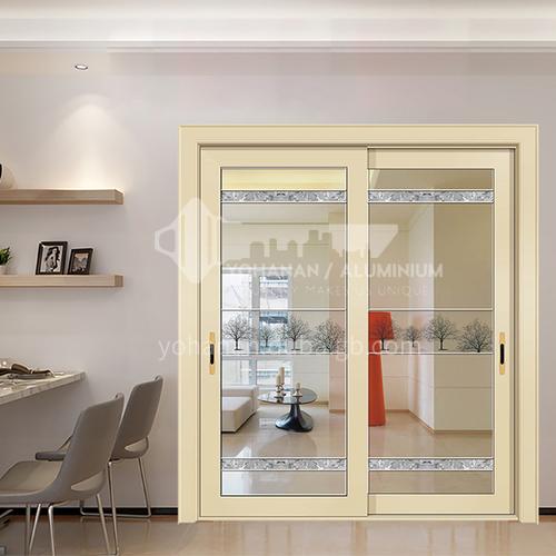 1.4mm aluminum alloy sliding door craft glass sliding door