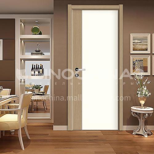 Modern and novel paint-free wood grain ecological door hotel door 21