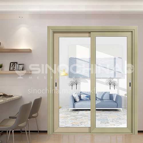 1.4mm aluminum alloy sliding door three-dimensional glass flower