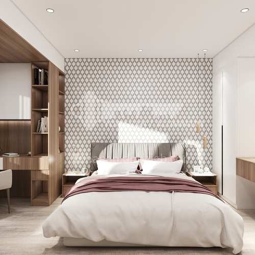 Wallpaper,PVC Wallpaper,Waterproof, Wall decoration,Modern and simple style, 3D design, A8690-A8695