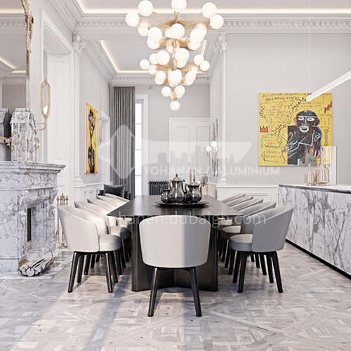 Apartment-French apartment interior design by the Seine   AFS1019