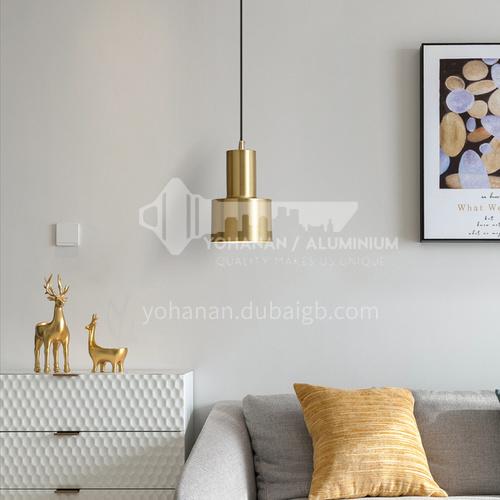 Bedroom bedside chandelier Nordic modern minimalist personality creative single head small restaurant bar table lamp-YDH-9202