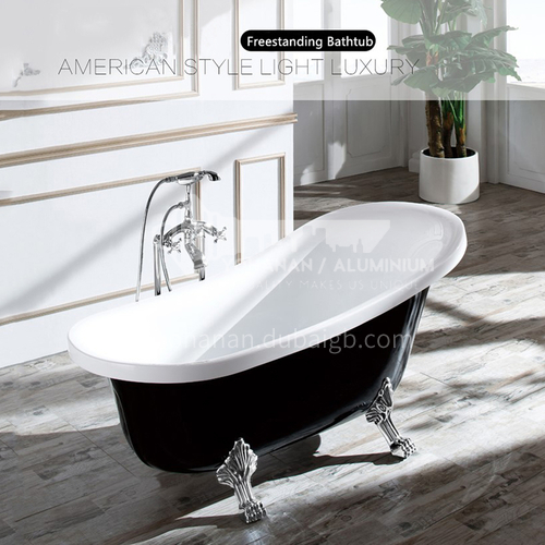 Acrylic bathtub   classical style    freestanding  bathtub