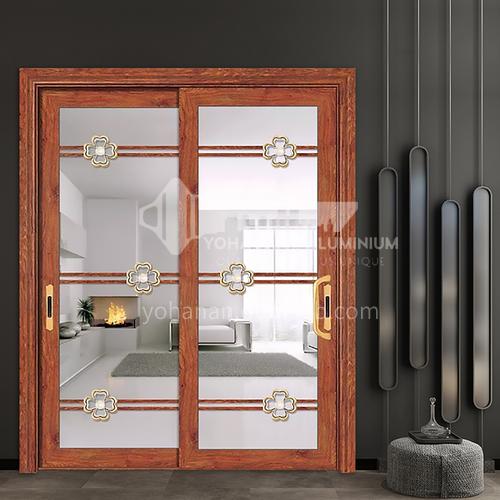 1.2mm aluminum sliding door