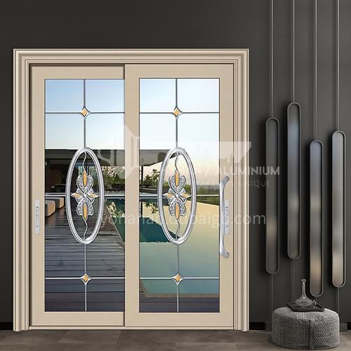 1.2mm aluminum alloy craft glass sliding door
