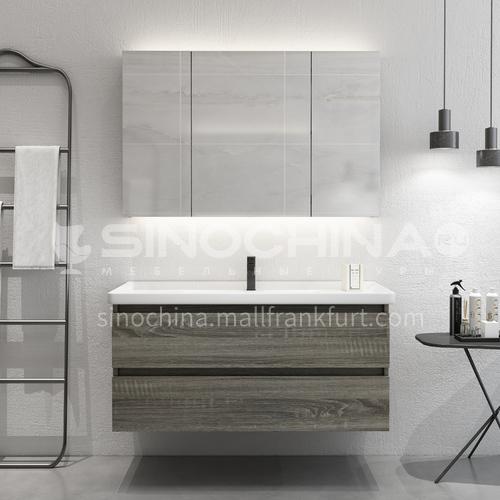 Economic wall hung modern design bathroom vanity cabinet OG1011