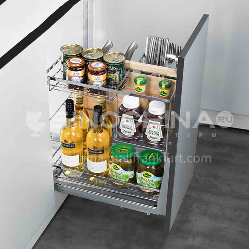 Multifunctional  practical  flat bottom  seasoning basket GH-031