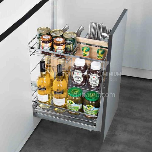 Multifunctional  practical  flat bottom  seasoning basket GH-031
