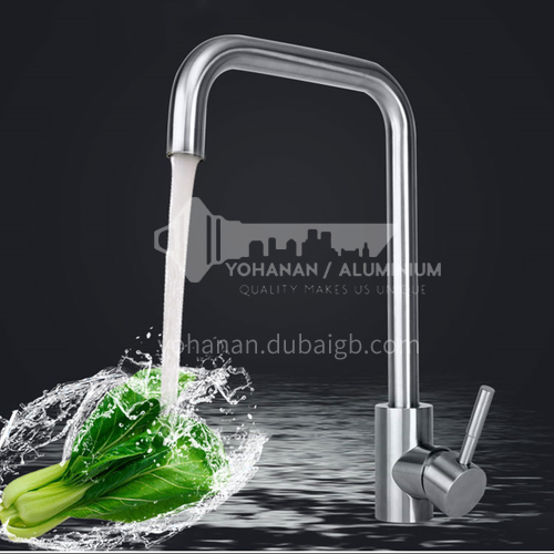 Kitchen Faucet Stainless Steel Faucet Ceramic Cartridge Brushed Color Faucet Top Quality