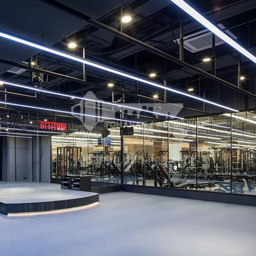 Fitness Room - Z&B Fitness Room Design   BG1018