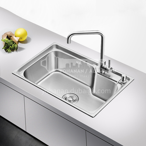 304 stainless steel good quality single sink GH-050
