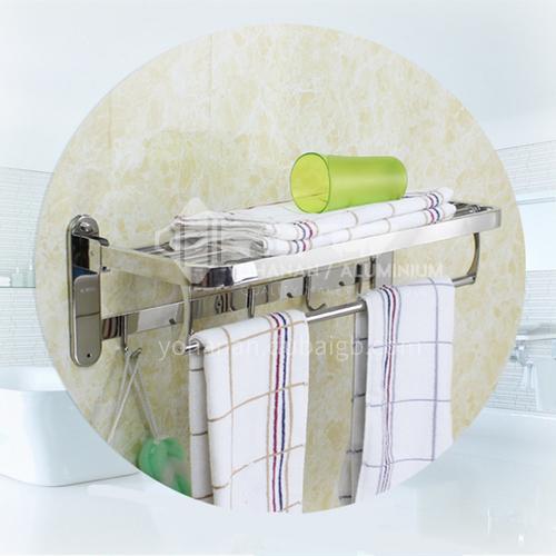bathroom accessories towel holder multifunction towel rack stainless steel