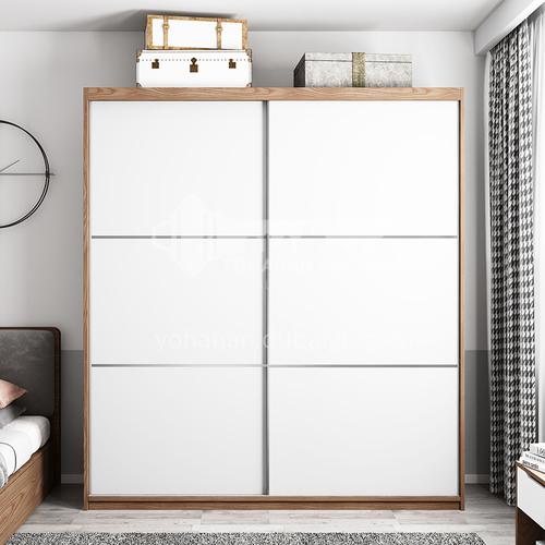 Modern melamine with particle board custom style sliding door wardrobe GW-158
