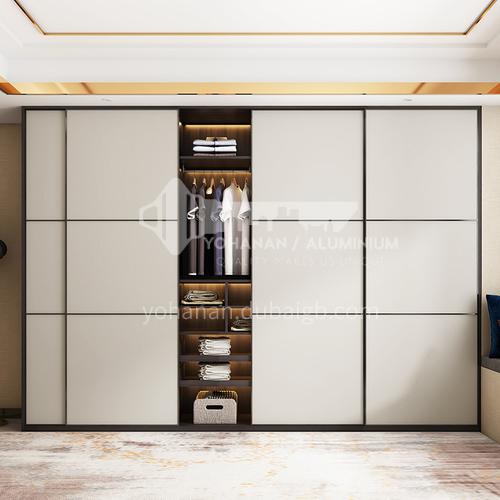 melamine with particle board sliding door wardrobe-GW-261
