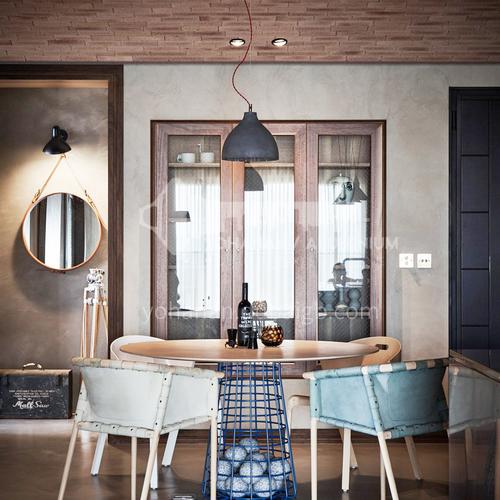 Apartment-Industrial style apartment interior design   AIS1004