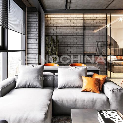 Apartment-63 square meters industrial style apartment design   AIS1005