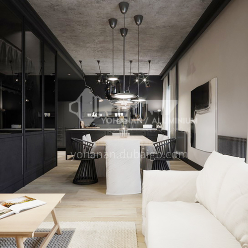 Apartment-Industrial style apartment design   AIS1010