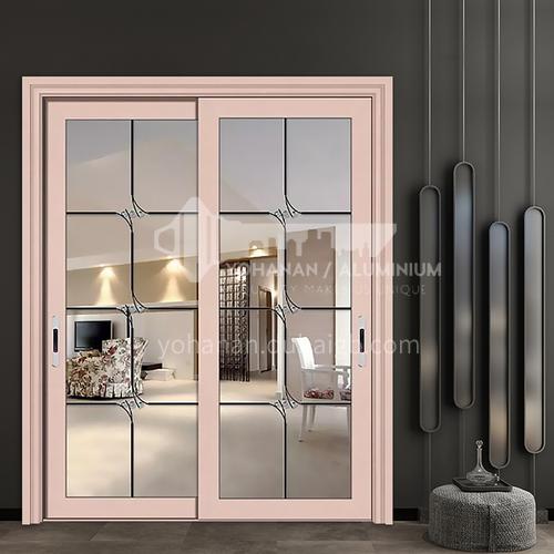 1.2mm modern style glass sliding door aluminum alloy sliding door kitchen balcony door
