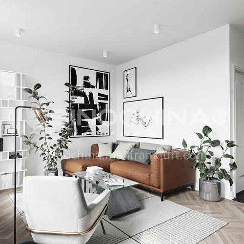 Apartment-60 square meters Nordic style apartment design ANS1001