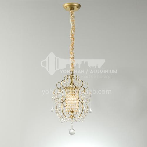American country chandelier dining room bedroom bedside corridor cloakroom crystal lamp-WX-9093