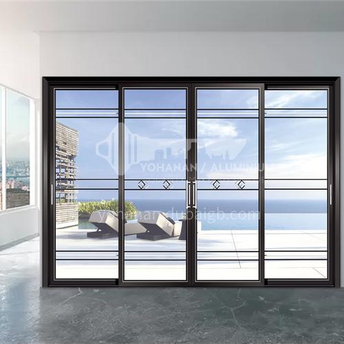 1.4mm modern style aluminum alloy narrow side sliding door sliding door kitchen door balcony door