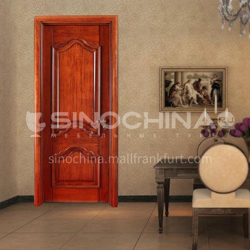 Congo Sapele original wood door room door solid wood classic style 02