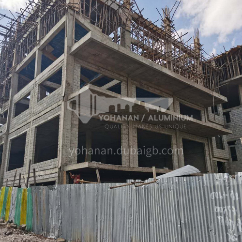 13500 ㎡ commercial and residential integrated project in Ethiopia      BP1004