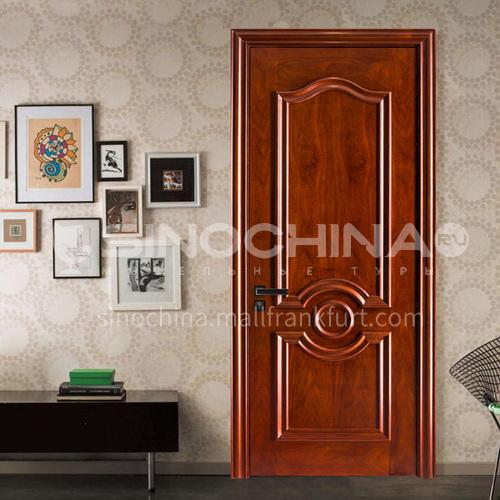 Congo Sapele solid wood door solid wood room door08