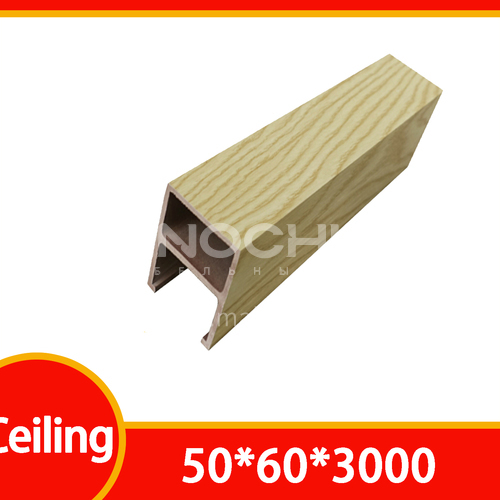 Ecological wood ceiling BL-5060 film-coated series