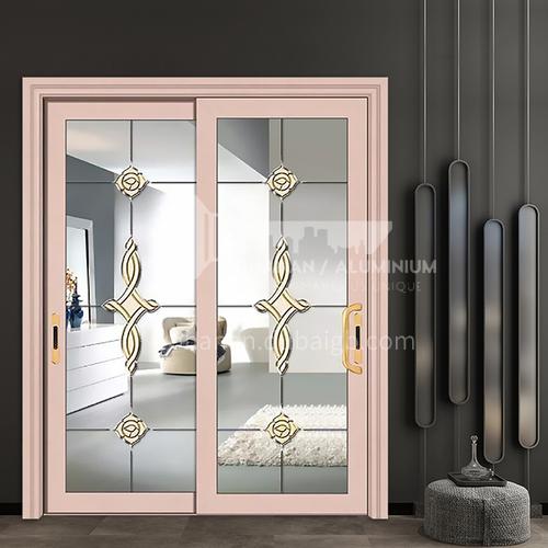 1.2mm durable high-quality engineering sliding door non-insulated glass aluminum sliding door