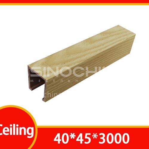 WPC ceiling BL-4045 lamination color series
