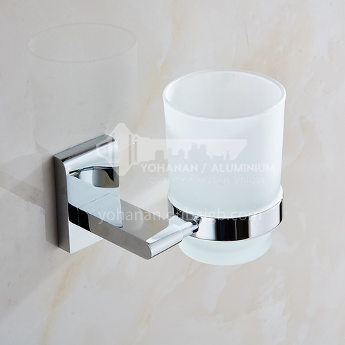 Bathroom white toothbrush cup