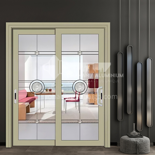1.2mm aluminum alloy sliding door living room door kitchen door bathroom sliding door glass sliding door custom color