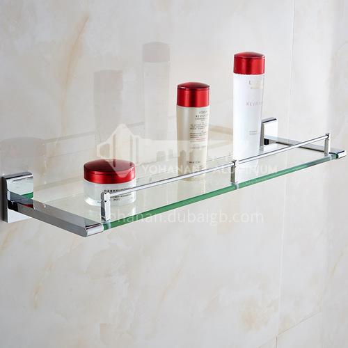 Bathroom silver shelf