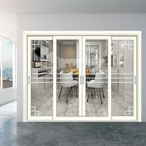 1.6mm aluminum alloy modern white aluminum sliding door