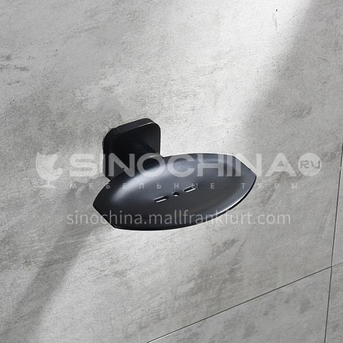 Bathroom black soap dish