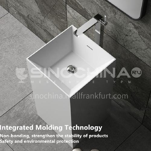 Artificial stone lavabo square basinDP608