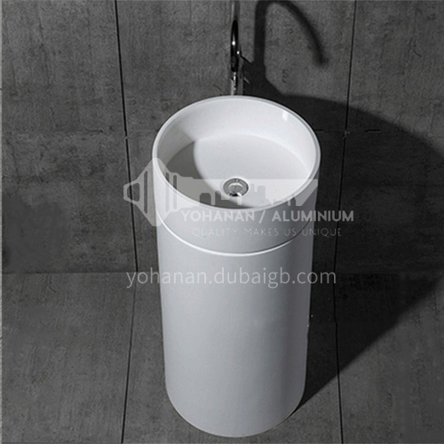 Artificial stone cylindrical basin DP630