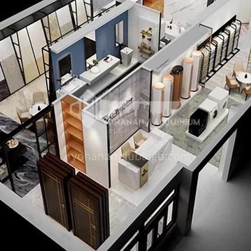 Showroom Design- 200m² showroom design BSR1002