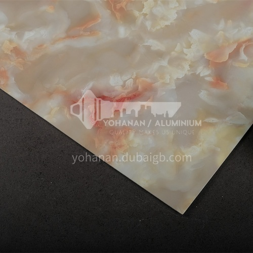 1220 * 2440 modern simple living room TV background wall stone plastic board PVC marble sheet series 4