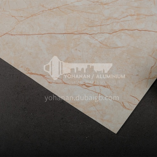 1220 * 2440 modern simple living room TV background wall stone plastic board PVC marble sheet series 5