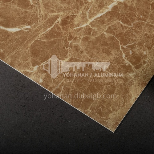1220 * 2440 modern simple living room TV background wall stone plastic board PVC marble sheet series 6