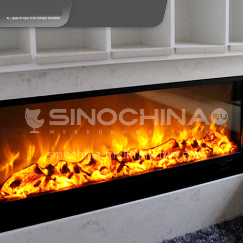 Electric fireplace ornamental core with manual key plate DQ000442 thickened cold-rolled steel plate material